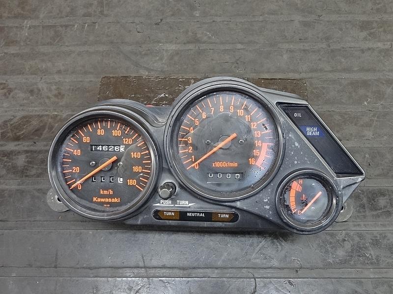 【181213.K】ZZR250(EX250H-036)● メーターユニット スピード/タコメーター 14626㎞ 【ZZ-R250 | 中古バイクパーツ通販・買取 ジャンクヤード鳥取 JunkYard