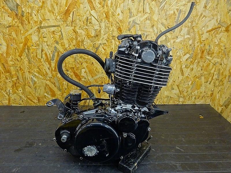 【190719.Y】SR400(RH01J-013)● エンジン クランク ミッション ギア クラッチ ジャンク 部品取りに? | 中古バイクパーツ通販・買取 ジャンクヤード鳥取 JunkYard