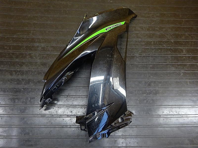【200406】ZX-6R('13 ABS)◇ サイドカウル右 アッパーサイドカウル右 【ニンジャ Ninja ZX636F | 中古バイクパーツ通販・買取 ジャンクヤード鳥取 JunkYard