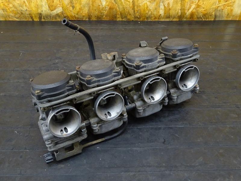 【200828】ZRX400(ZR400E-007)■ キャブレター キャブ 実動車外し!! 【ZRX-2 | 中古バイクパーツ通販・買取 ジャンクヤード鳥取 JunkYard