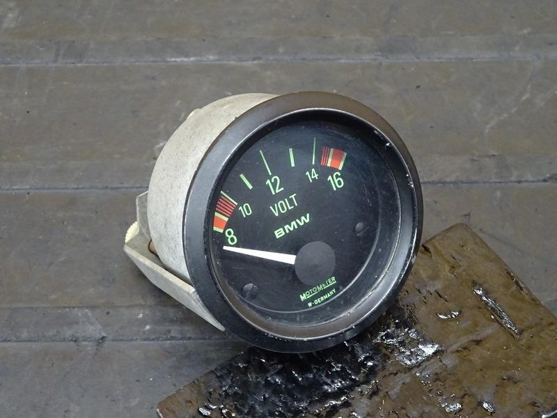 【201110】BMW R100RS '89■ 純正電圧計 ボルトメーター ※検:GS RT R R80 モノサス モノレバー | 中古バイクパーツ通販・買取 ジャンクヤード鳥取 JunkYard