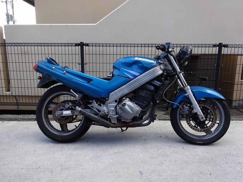 ZZ-R250(EX250H-055)☆書付き 不動 ジャンク マフラー キャブレター ZZR250【車体 カワサキ 250cc | 中古バイクパーツ通販・買取 ジャンクヤード鳥取 JunkYard