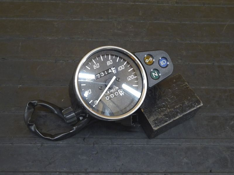 【210615】FTR223(MC34-1501)◇ スピードメーター インジケーターランプ 17314㎞   中古バイクパーツ通販・買取 ジャンクヤード鳥取 JunkYard
