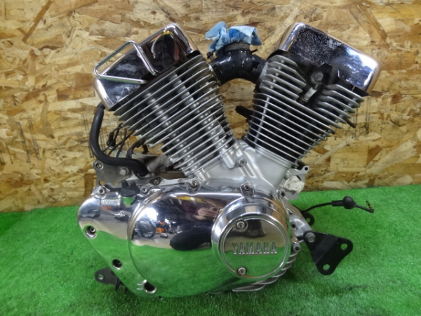 ビラーゴ250(3DM-053)◇エンジン クランキングOK!! 後期 メッキ   中古バイクパーツ通販・買取 ジャンクヤード鳥取 JunkYard