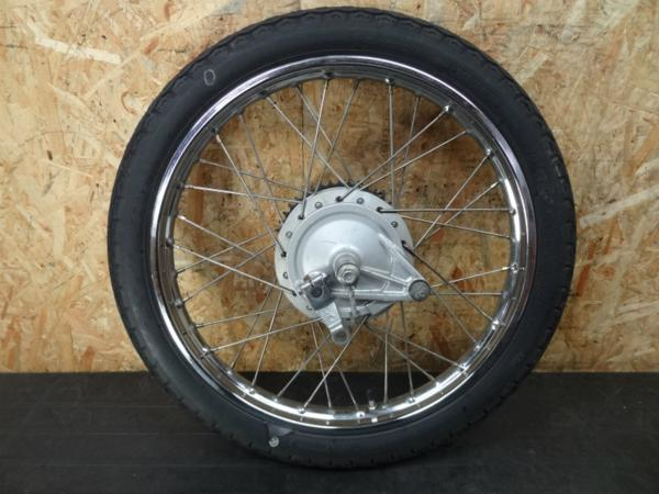 【140823】CL50(CD50)◎リアホイール17×1.40 アクスル ドラム | 中古バイクパーツ通販・買取 ジャンクヤード鳥取 JunkYard