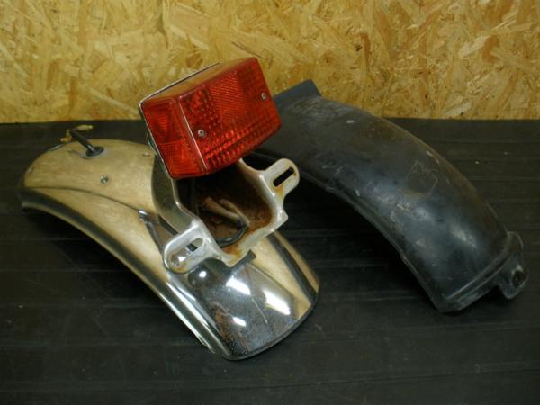 【141004】Z250LTD(KZ250G)◎リアフェンダー テール インナー | 中古バイクパーツ通販・買取 ジャンクヤード鳥取 JunkYard