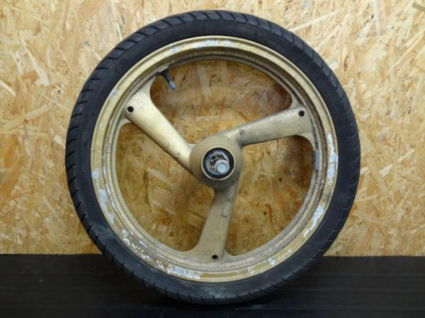【141014】FZR250(2KR)◎フロントホイール アクスル 17×2.15 | 中古バイクパーツ通販・買取 ジャンクヤード鳥取 JunkYard