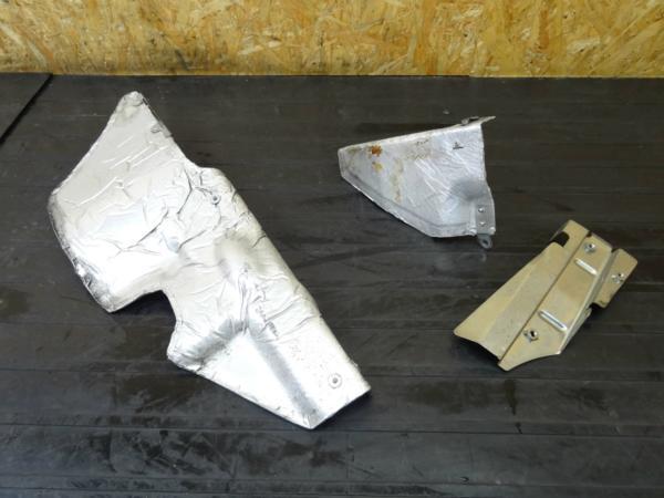 【150122】NS400R(NC19)◆遮熱板 ヒートガード プロテクター | 中古バイクパーツ通販・買取 ジャンクヤード鳥取 JunkYard