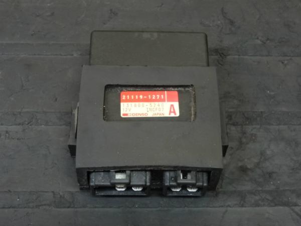 【141210】ZXR400(ZX400H)◎CDI イグナイター Eg始動確認後取外   中古バイクパーツ通販・買取 ジャンクヤード鳥取 JunkYard