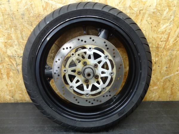 【141210】ZXR400(ZX400H)◎フロントホイール17×3.50 アクスル   中古バイクパーツ通販・買取 ジャンクヤード鳥取 JunkYard