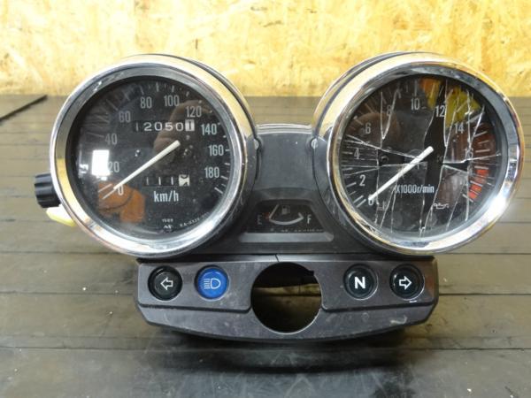 【150423】GSX250FX(ZR250C)◆メーターユニット スピード 難有 | 中古バイクパーツ通販・買取 ジャンクヤード鳥取 JunkYard