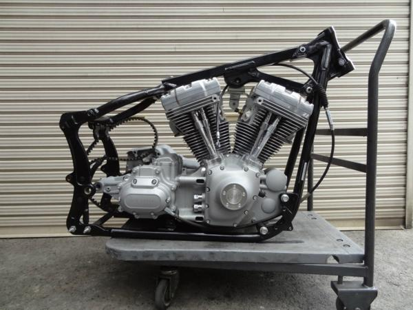 【161005】FXST1580◆エンジン 6速ミッション【ツインカム TC96   中古バイクパーツ通販・買取 ジャンクヤード鳥取 JunkYard