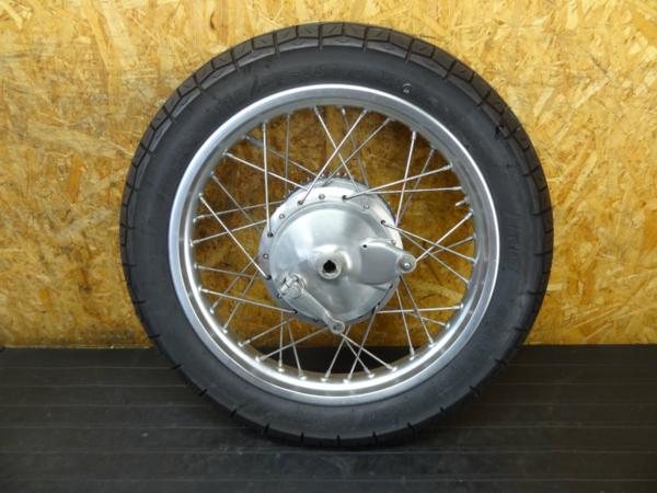 【170215】SR400(RH01J-005)◆リアホイール ドラムパネル 18×2.15 | 中古バイクパーツ通販・買取 ジャンクヤード鳥取 JunkYard