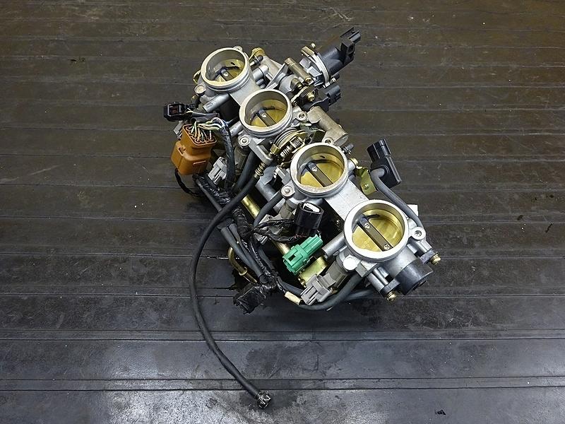 【190501.K】ZX-10R'04-05● スロットルボディー インジェクター インジェクション 始動OK? 【C型 ZX1000C ニンジャ   中古バイクパーツ通販・買取 ジャンクヤード鳥取 JunkYard