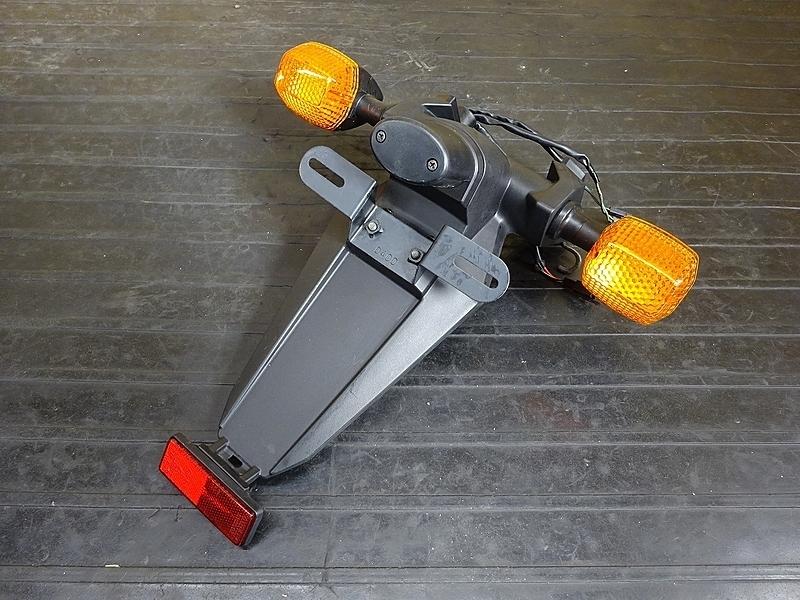 【190501.K】ZX-10R'04-05● 純正リアウインカー リアフェンダー ナンバー灯 ノーマル戻しに? 【C型 ZX1000C ニンジャ | 中古バイクパーツ通販・買取 ジャンクヤード鳥取 JunkYard