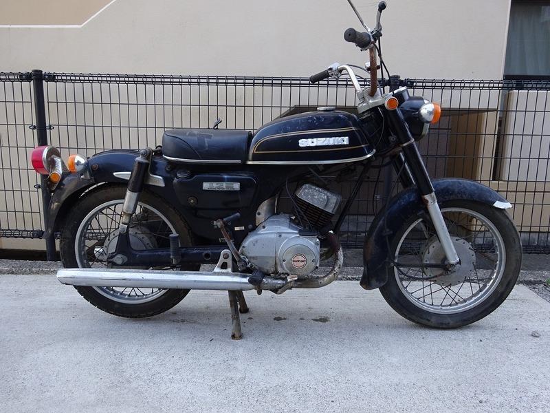 K125(K125-194)☆スズキ 旧車 部品取り ベース車 【車体 スズキ | 中古バイクパーツ通販・買取 ジャンクヤード鳥取 JunkYard