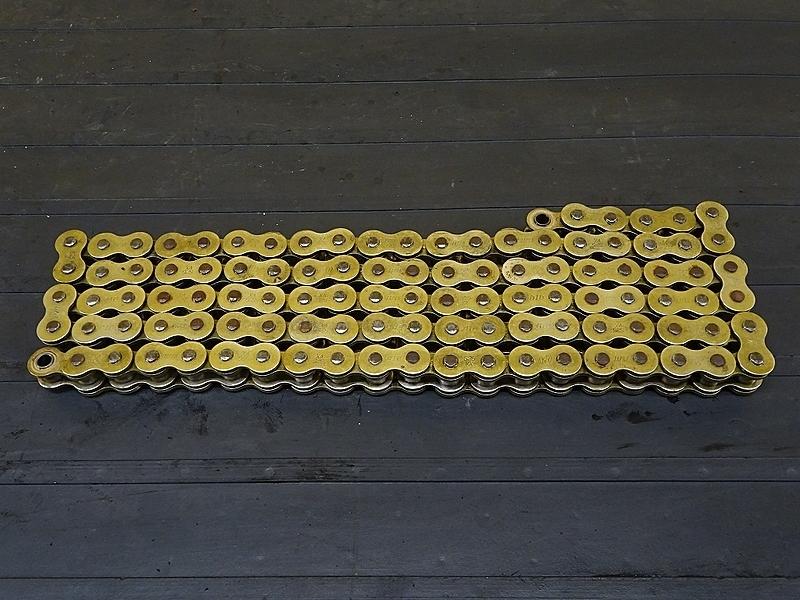 【190310.K】ZRX-2(ZR400E-302)★ DIDゴールドチェーン 525VX 106L 【ZRX-Ⅱ ZRX400 | 中古バイクパーツ通販・買取 ジャンクヤード鳥取 JunkYard