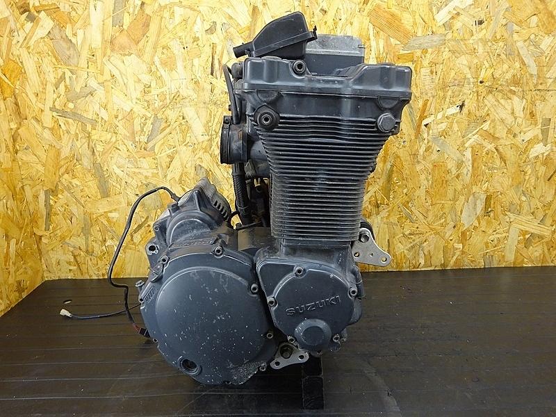 【190924.S】GSX-R1100 '92 N型(GV73A-109)★ 中古エンジン 始動確認済み!! セルモーター オルターネーター 12131㎞ | 中古バイクパーツ通販・買取 ジャンクヤード鳥取 JunkYard