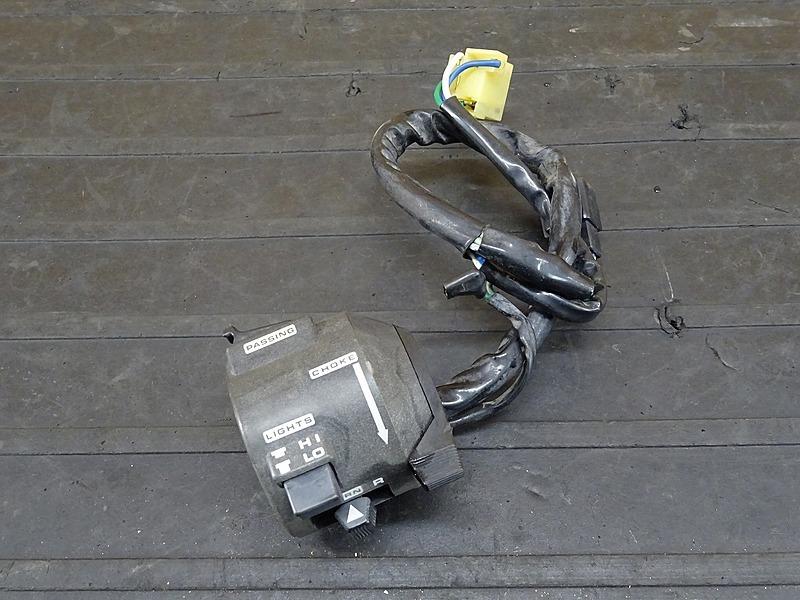 【200204】GB250クラブマン 1型(MC10-1015)■ ハンドルスイッチ左 スイッチボックス左 | 中古バイクパーツ通販・買取 ジャンクヤード鳥取 JunkYard