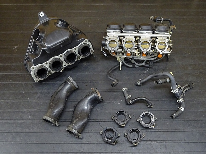 【200212】YZF-R6 '05 ■ スロットルボディ インジェクター エアクリーナーボックス インシュレーター 【5SLM 5SL '03-'05 | 中古バイクパーツ通販・買取 ジャンクヤード鳥取 JunkYard