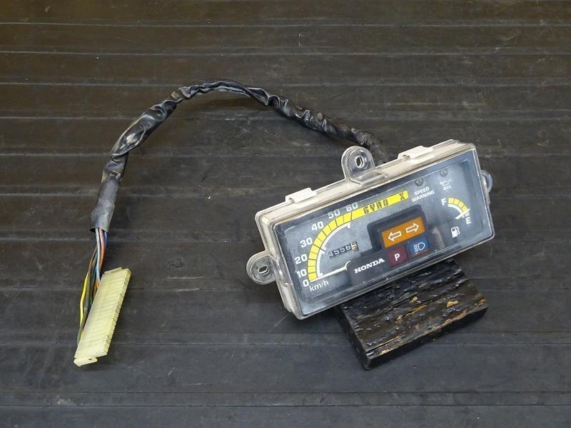 【210512】ジャイロX(TD01-1202)■ スピードメーター インジケーターランプ 4556㎞ ジャンク!? 【GYRO X | 中古バイクパーツ通販・買取 ジャンクヤード鳥取 JunkYard