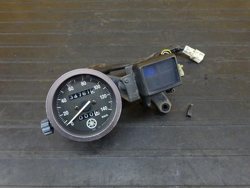 【210622】TW225E(DG09J-004)■ スピードメーター インジケーターランプ 34761㎞ ※検:DG07J 2JL TW200 | 中古バイクパーツ通販・買取 ジャンクヤード鳥取 JunkYard
