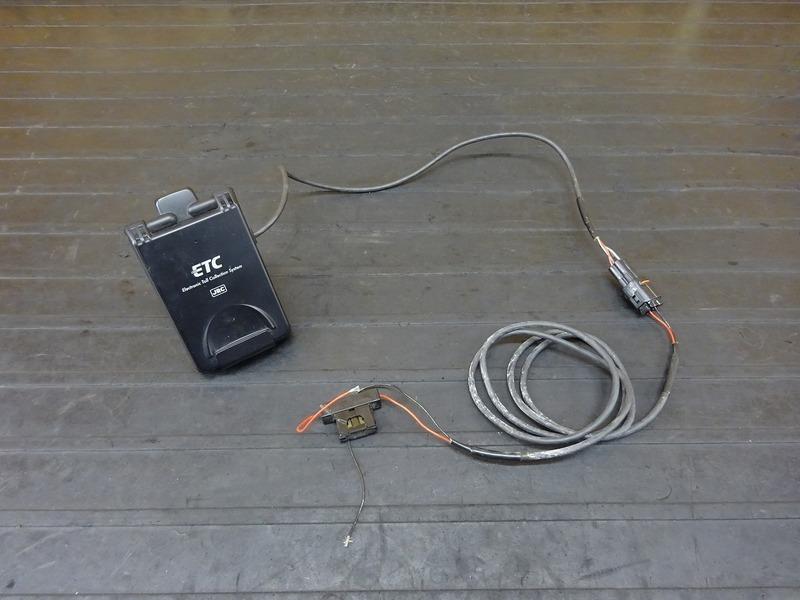 【210714】■ 二輪用ETC車載器(2) JRM-12 日本無線 アンテナ一体型 中古 【オートバイ/バイク用ETC | 中古バイクパーツ通販・買取 ジャンクヤード鳥取 JunkYard