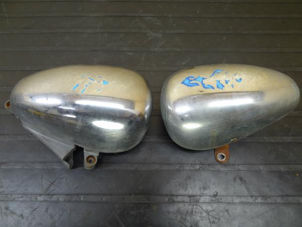 【140412】ビラーゴ250(3DM)◎純正エアクリーナー 左右 ダミー | 中古バイクパーツ通販・買取 ジャンクヤード鳥取 JunkYard