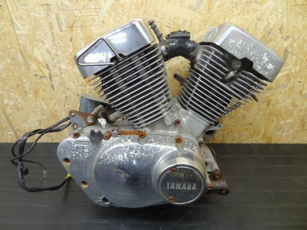 【140412】ビラーゴ250(3DM)◎エンジン 初爆確認済 メッキ【後期   中古バイクパーツ通販・買取 ジャンクヤード鳥取 JunkYard