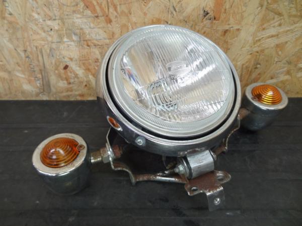 【140623】ビラーゴ250(3DM)◇ヘッドライト ステー バイザー付   中古バイクパーツ通販・買取 ジャンクヤード鳥取 JunkYard