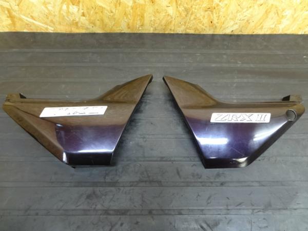 【141106】ZRX400(ZR400E)◎サイドカバー 左右   中古バイクパーツ通販・買取 ジャンクヤード鳥取 JunkYard