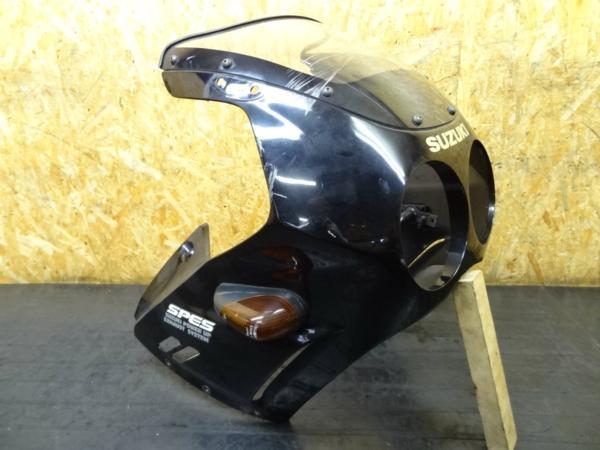 【150402】GSX-R250(GJ72A)◎アッパーカウル フロント 難有 | 中古バイクパーツ通販・買取 ジャンクヤード鳥取 JunkYard