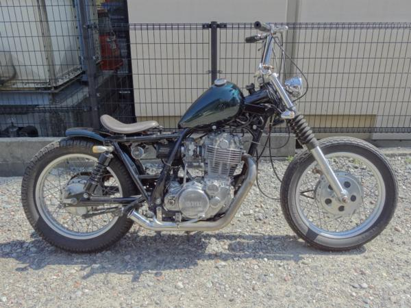 SR400(1JR) カスタム◇チョッパー ピーナッツタンク ベースに!! | 中古バイクパーツ通販・買取 ジャンクヤード鳥取 JunkYard