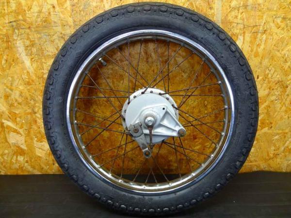 【150824】スーパーカブ90(HA02)◎リアホイール 17×1.40 | 中古バイクパーツ通販・買取 ジャンクヤード鳥取 JunkYard