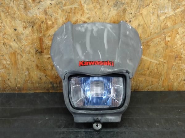 【151105】Dトラッカー(LX250E)◇フロントマスク ヘッドライト | 中古バイクパーツ通販・買取 ジャンクヤード鳥取 JunkYard