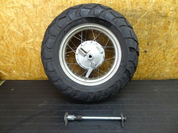 【161214】TW225(DG09J)◆リアホイール ドラム 14×4.50 | 中古バイクパーツ通販・買取 ジャンクヤード鳥取 JunkYard