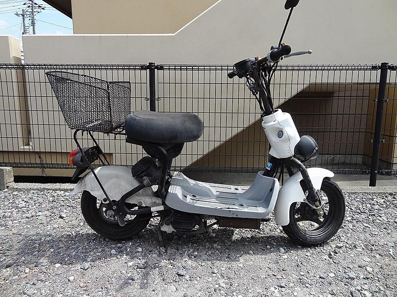 チョイノリSS(CZ41A)☆ 書付 キックOK 部品取りに!! 50ccスクーター【車体】 | 中古バイクパーツ通販・買取 ジャンクヤード鳥取 JunkYard