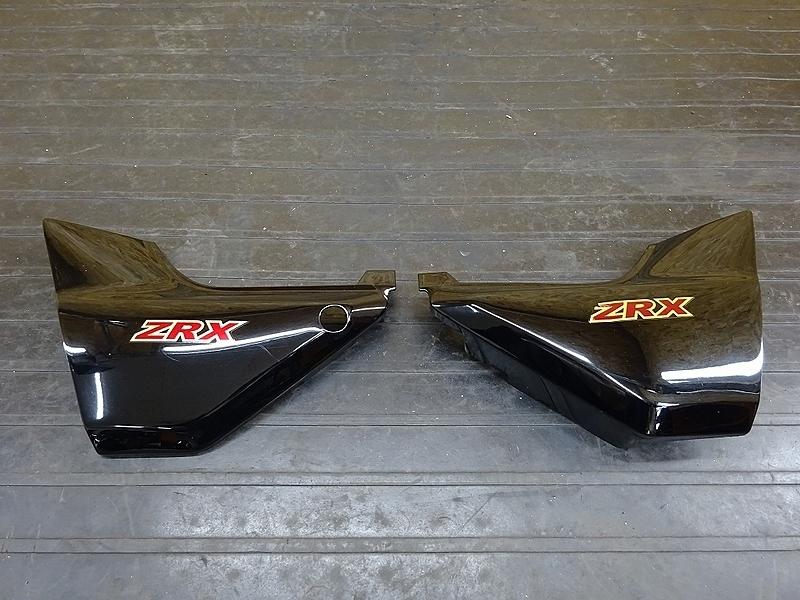 【190520.K】ZRX400(ZR400E-051)● サイドカバー サイドカウル (2005年 イモビ付き | 中古バイクパーツ通販・買取 ジャンクヤード鳥取 JunkYard