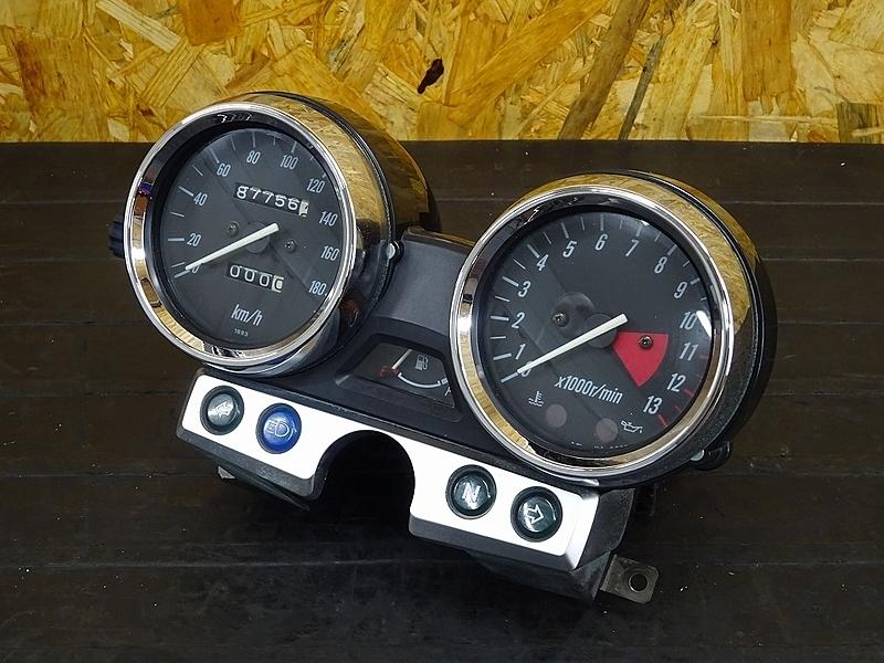 【190828.K】ZRX1200R(ZRT20A-020)★ スピードメーター インジケーターランプ タコメーター 87756㎞ | 中古バイクパーツ通販・買取 ジャンクヤード鳥取 JunkYard