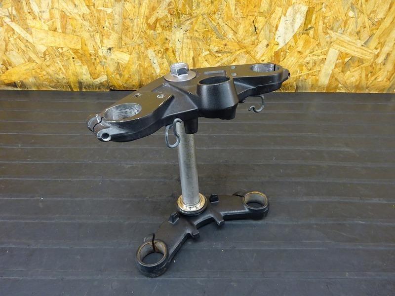 【201204】Ninja250(EX250L-001)■ トップブリッジ ステム アンダーブラケット Φ37㎜ 【NINJA ニンジャ | 中古バイクパーツ通販・買取 ジャンクヤード鳥取 JunkYard