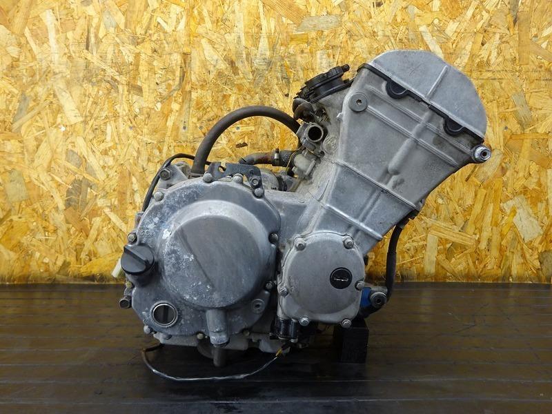 【210621】ZXR400(ZX400L-306)■ 中古エンジン 始動確認OK!! セルモーター ジェネレーター 【ZXR400R   中古バイクパーツ通販・買取 ジャンクヤード鳥取 JunkYard